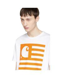 Junya Watanabe - White X Carhartt T-shirt for Men - Lyst