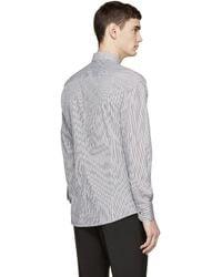 Dolce & Gabbana - Black & White Striped Sicilia Shirt for Men - Lyst