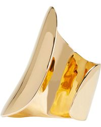 Maiyet | Metallic Gold Large Asymmetric Cuff | Lyst