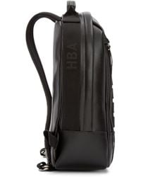 Hood By Air - Black Leather Moma Zenith Backpack for Men - Lyst