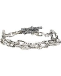 Pearls Before Swine | Metallic Silver Link Bracelet | Lyst