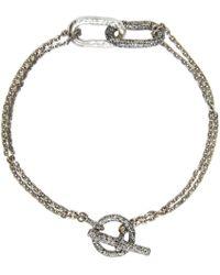 Pearls Before Swine - Metallic Silver Link Bracelet for Men - Lyst