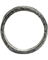 Pearls Before Swine | Metallic Silver Forged Ring Set | Lyst