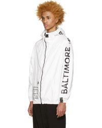 Ueg - White Baltimore Jacket for Men - Lyst