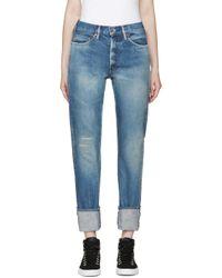 Chimala - Blue Narrow Jeans - Lyst