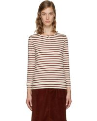 A.P.C. | Red Veronica T-shirt | Lyst