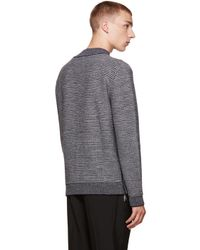 Wooyoungmi - Gray Grey Mock Neck Sweater for Men - Lyst