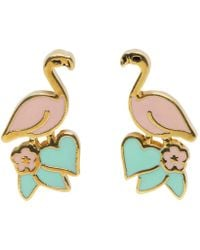 Marc Jacobs | Pink Flamingo Earrings | Lyst