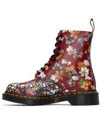 Dr. Martens - Multicolor Floral Mix Pascal Pc Boots - Lyst