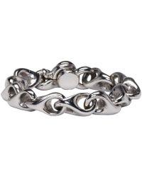 KTZ | Metallic Silver Regular Bracelet | Lyst