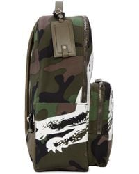 Valentino - Multicolor Panther Backpack for Men - Lyst