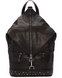 Jimmy Choo   Black Star Fitzroy Backpack   Lyst