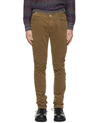 Nonnative | Multicolor Brown Tapered Dweller Jeans for Men | Lyst