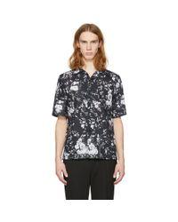 McQ Alexander McQueen - Black Floral Billy Shirt for Men - Lyst