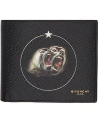 Givenchy - Black Monkey Brothers Wallet for Men - Lyst