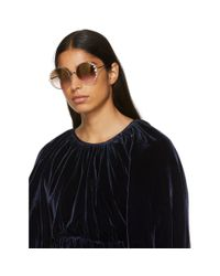 Fendi - Pink Ribbons And Pearls Sunglasses - Lyst