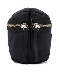 Marc Jacobs Black Small Double Zip Pouch