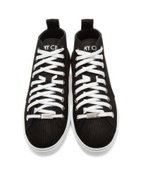Jimmy Choo - Black Suede Colt High-top Sneakers for Men - Lyst