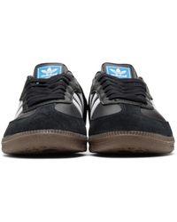 Adidas Originals | Black Samba Sneakers for Men | Lyst