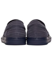 Jimmy Choo - Blue Navy Grove Slip-on Sneakers for Men - Lyst
