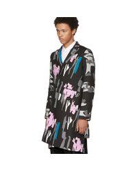 Comme des Garçons - Multicolor Pigment Print Coat for Men - Lyst