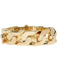 Ambush - Metallic Gold New Classic Chain 1 Bracelet - Lyst