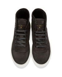 Marc Jacobs - Black Suede High-top Sneakers for Men - Lyst