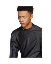 Alexander Wang - Black Long Sleeve Athletic T-shirt for Men - Lyst