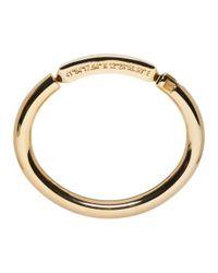Valentino - Metallic Gold Garavani Always Bracelet - Lyst