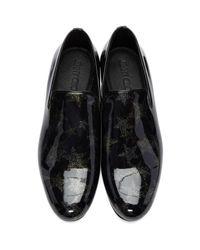 Jimmy Choo Black Star Sloane Loafers for men