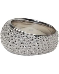 Tom Wood - Metallic Silver Ice Structure Ring for Men - Lyst