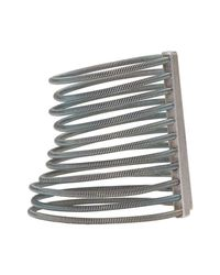Maison Margiela - Metallic Silver Small Stacked Bangle Cuff - Lyst
