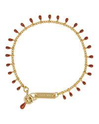 Isabel Marant - Metallic Purple New Casablanca Bracelet - Lyst