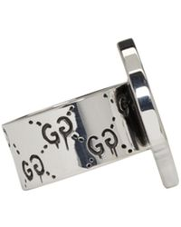 Gucci | Metallic Silver Ghost Ring for Men | Lyst