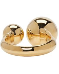 Chloé - Metallic Gold Oma Pearl Ring - Lyst