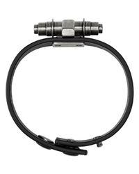 Givenchy - Black Simple Obsedia Bracelet for Men - Lyst