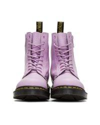 Dr. Martens - Purple Pascal Boots - Lyst