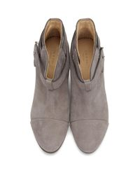 Rag & Bone - Gray Grey Harrow Boots - Lyst