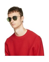 Oliver Peoples - Multicolor Black And Tortoiseshell Alland Sunglasses for Men - Lyst