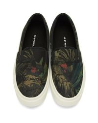 PS by Paul Smith - Black Cockatoo Clyde Slip-on Sneakers for Men - Lyst