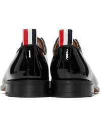 Thom Browne - Black Patent Leather Derbys - Lyst
