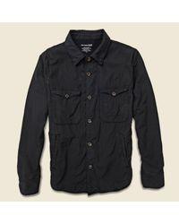 Save Khaki   Fleece Lined Multi Pocket Jacket - Black for Men   Lyst