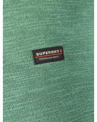 Superdry Washed Cape Green Garment Dye L.a. Sweatshirt for men