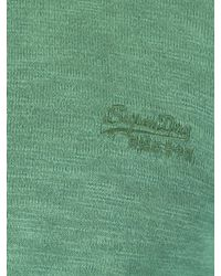 Superdry - Washed Cape Green Garment Dye L.a. Sweatshirt for Men - Lyst