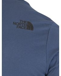 The North Face - Blue Wing Teal Fine T-shirt for Men - Lyst