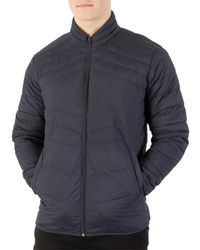 Jack & Jones - Blue Total Eclipse New Landing Stand Collar Jacket for Men - Lyst