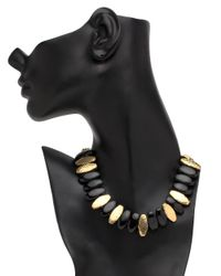 Ashley Pittman - Multicolor Dhana Dark Horn Necklace - Lyst