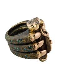 Gaelle Khouri - Metallic Bronze Claw Ring - Lyst