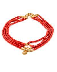 Darlene De Sedle | Multicolor 4 Strand Coral Necklace | Lyst