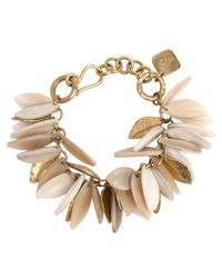 Ashley Pittman | Metallic Light Horn Tanzu Bracelet | Lyst